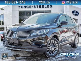 Used 2015 Lincoln MKC RESERVE - GREAT DEAL! LEATHER! NAVIGATION! PANORAMIC SUNROOF! for sale in Thornhill, ON