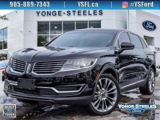 Used 2018 Lincoln MKX Reserve for sale in Thornhill, ON