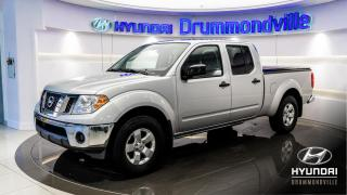 Used 2010 Nissan Frontier SE 4X4 CREW CAB 2010 + CRUISE + A/C + HI for sale in Drummondville, QC