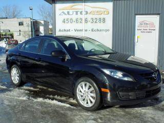 Used 2012 Mazda MAZDA6 ***GS,TOIT OUVRANT,AIR CLIM*** for sale in Longueuil, QC