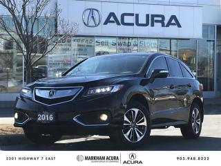Used 2016 Acura RDX Elite at AWD, Navi, Heated Seats, Backup Cam for sale in Markham, ON