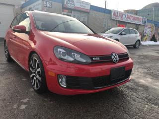 Used 2013 Volkswagen GTI SUNROOF_BLUETOOTH_HEATED SEATS for sale in Oakville, ON