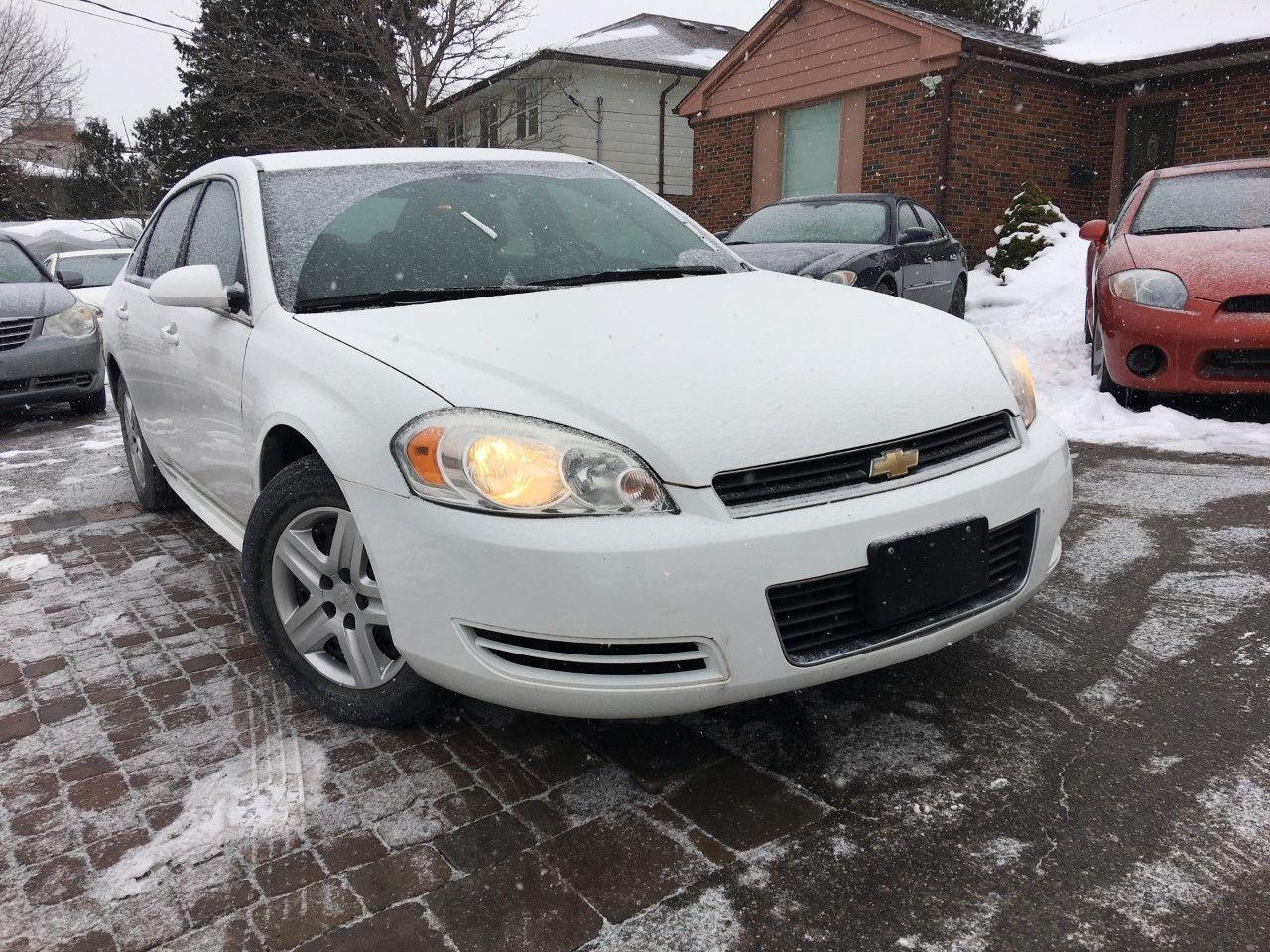 Photo of White 2010 Chevrolet Impala
