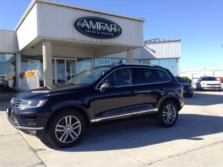 Used 2015 Volkswagen Touareg HIGHLINE /AWD / NO PAYMENTS FOR 6 MONTHS!! for sale in Tilbury, ON
