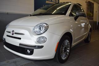 Used 2012 Fiat 500 Voiture à hayon 2 portes Lounge for sale in St-Eustache, QC