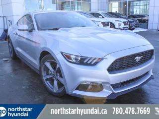 Used 2017 Ford Mustang V6/LOWKM/6SPEED/PUSHSTART for sale in Edmonton, AB