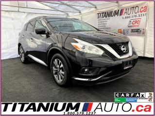 Used 2017 Nissan Murano SV-Camera-GPS-Blind Spot-Pano Roof-Apple Play-XM- for sale in London, ON