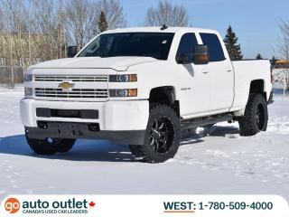 Used 2015 Chevrolet Silverado 3500 AGGRESSIVE TIRE PACKAGE 4x4 Crew Cab, Trailer Brake Control, Fully Rock Guarded for sale in Edmonton, AB