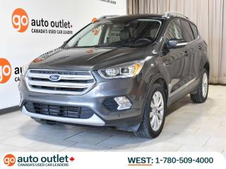 Used 2018 Ford Escape Titanium 4WD, Leather Heated Seats, Nav, Backup Camera, Auto Start/Stop, Heated Steering Wheel for sale in Edmonton, AB