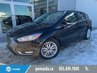 Used 2016 Ford Focus TITANIUM LEATHER SUNROOF NAV FULL LOAD for sale in Edmonton, AB