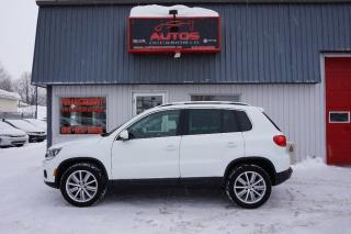 Used 2015 Volkswagen Tiguan Highline for sale in Lévis, QC