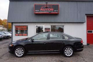 Used 2012 Volkswagen Passat HIGHLINE for sale in Lévis, QC