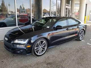 Used 2015 Audi S7 **FREE 1 YEAR WARRANTY** S7; FULLY LOADED, BLUETOOTH, BACKUP CAM, HEATED SEATS, NAV, SUNROOF AND MORE for sale in Edmonton, AB