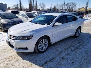 Used 2016 Chevrolet Impala LT; GREAT CONDITION, BLUETOOTH, BACK UP CAM, AND MORE for sale in Edmonton, AB