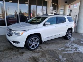 Used 2017 GMC Acadia DENALI; NAV, BLUETOOTH, BACKUP CAM, HEATED/COOLING SEATS, SUNROOF AND MORE for sale in Edmonton, AB