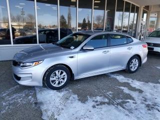 Used 2018 Kia Optima LX; BLUETOOTH, HEATED SEATS, CRUSIE CONTROL, A/C AND MORE for sale in Edmonton, AB