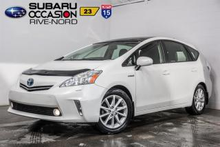Used 2014 Toyota Prius V CUIR+TOIT.OUVRANT+SI for sale in Boisbriand, QC