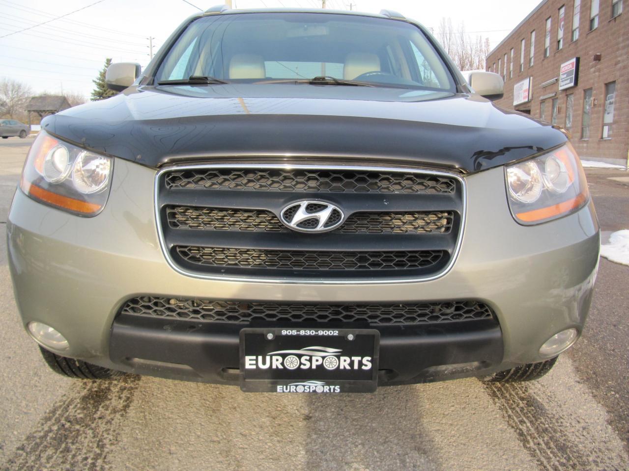 2008 Hyundai Santa Fe GLS Limited LEATHER & SUNROOF