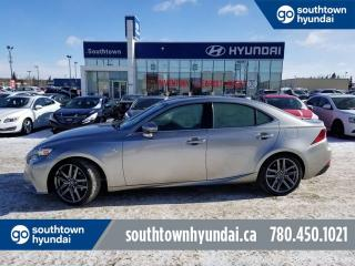 Used 2015 Lexus IS 250 AWD/NAV/COOLED SEATS/SUNROOF for sale in Edmonton, AB