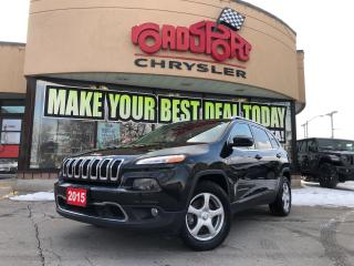 Used 2015 Jeep Cherokee LIMITED 4X4/REAR CAM/ H-TED SEATS/FOGLAMPS/ NAV for sale in Toronto, ON