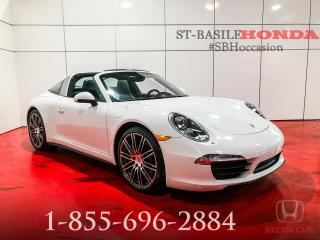 Used 2015 Porsche 911 TARGA 4 + PDK + TURBO WHEELS + WOW ! for sale in St-Basile-le-Grand, QC