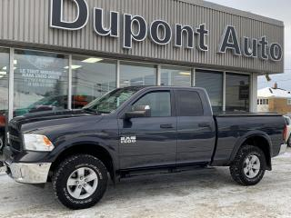 Used 2016 RAM 1500 Ram1500 Outdoorsman quad cab v6 4x4 boit for sale in Alma, QC