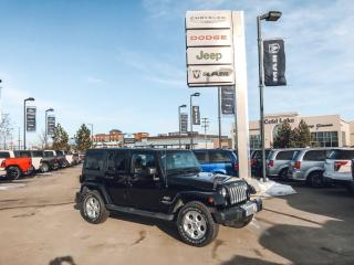 Used 2015 Jeep Wrangler Unlimited Sahara for sale in Cold Lake, AB