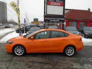 Used 2013 Dodge Dart RALLYE / ALLOYS / REMOTE START/ CLEAN / PWR GROUP for sale in Scarborough, ON