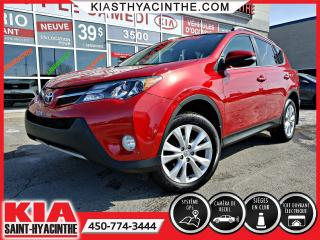 Used 2015 Toyota RAV4 Limited AWD ** CUIR / TOIT / NAVI / MAGS for sale in St-Hyacinthe, QC