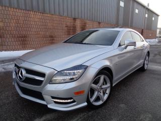 Used 2012 Mercedes-Benz CLS-Class CLS550-4MATIC-AMG PKG-NAVI-CAMERA-KEYLESS GO for sale in Toronto, ON