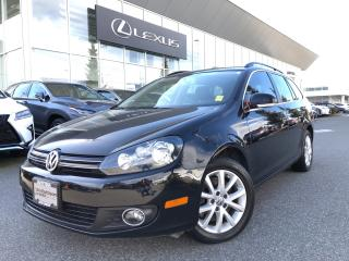 Used 2013 Volkswagen Golf Wagon 2.0 TDI Comfortline DSG at w/ Tip NO Accidents, LO for sale in North Vancouver, BC