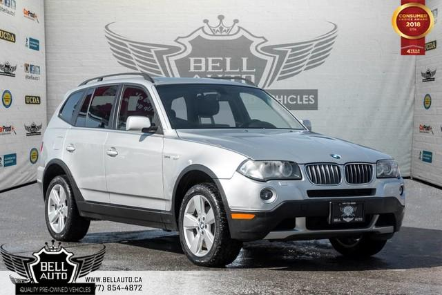 2007 BMW X3 3.0i, LEATHER, PANO ROOF, HEATED SEATS, POWER LOCK/ WINDOWS,