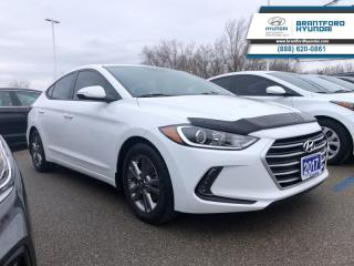 Used 2017 Hyundai Elantra GL | BACKUP CAMERA | BLIND SPOT DETECTION | 1-OWNER | AUTOMATIC  - $94.47 B/W for sale in Brantford, ON