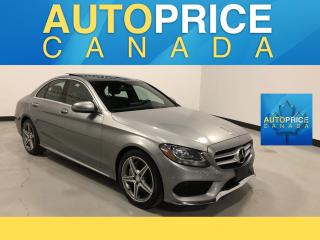 Used 2016 Mercedes-Benz C-Class NAVIGATION|PANOROOF|LEATHER for sale in Mississauga, ON