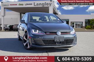 Used 2016 Volkswagen Golf GTI 3-Door *GTI* *MANUAL* for sale in Surrey, BC
