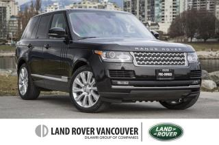 Used 2016 Land Rover Range Rover V8 Supercharged SWB *Certified Warranty! for sale in Vancouver, BC