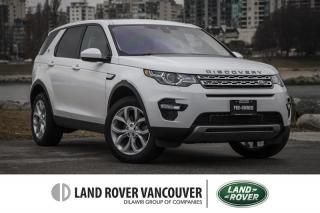 Used 2017 Land Rover Discovery Sport HSE *Certified Pre-Owned 6yr/160,000km Warranty! for sale in Vancouver, BC