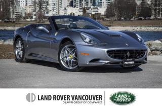 Used 2010 Ferrari California F1 *V8 *CONVERTIBLE*- Spring here! for sale in Vancouver, BC