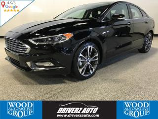 Used 2018 Ford Fusion Titanium CLEAN CARFAX, TITANIUM AWD, REMOTE START for sale in Calgary, AB