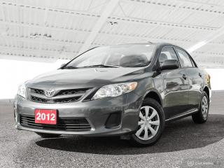 Used 2012 Toyota Corolla USED SALES TEAM NOW IN THE MAIN SHOWROOM for sale in Waterloo, ON