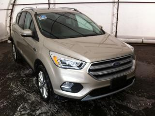 Used 2017 Ford Escape Titanium TITANIUM AWD, PANORAMIC SUNROOF, REVERSE CAMERA, REMOTE STARTER, LEATHER HEATED SEATS/STEERING WHEEL for sale in Ottawa, ON