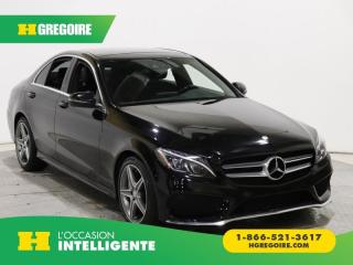 Used 2016 Mercedes-Benz C 300 C 300 4 Matic for sale in St-Léonard, QC