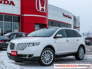 Used 2015 Lincoln MKX Base - *NAVI|BLUETOOTH|ACCIDENT FREE|HEATED SEATS* for sale in Milton, ON