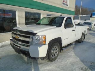 Used 2011 Chevrolet Silverado 1500 2 RM, Cabine ordinaire, 119,0 po, WT for sale in St-Jérôme, QC