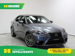 Used 2015 Lexus IS 250 4DR SDN AWD for sale in St-Léonard, QC