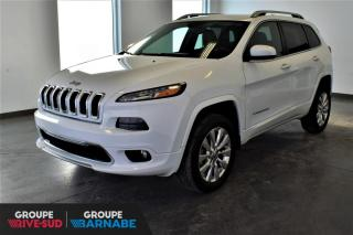 Used 2016 Jeep Cherokee OVERLAND | V6 + 4X4 + NAV + CUIR + CAM for sale in St-Jean-Sur-Richelieu, QC