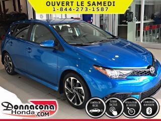 Used 2018 Toyota Corolla iM ***CAMÉRA DE RECUL***ÉCRAN TACTILE*** for sale in Donnacona, QC