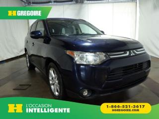 Used 2014 Mitsubishi Outlander GT AWD CUIR TOIT GPS for sale in St-Léonard, QC