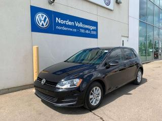Used 2016 Volkswagen Golf 5DR TRENDLINE AUTO - HEATED SEATS / BACKUP CAMERA / VW CERTIFIED for sale in Edmonton, AB
