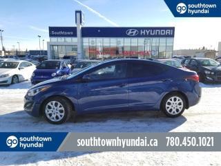 Used 2016 Hyundai Elantra GL/ HEATED SEATS/ HANDSFREE/ POWER OPTIONS for sale in Edmonton, AB